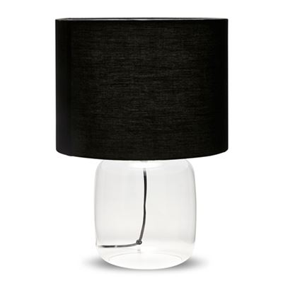 S&P Casper Table Lamp Black 46cm