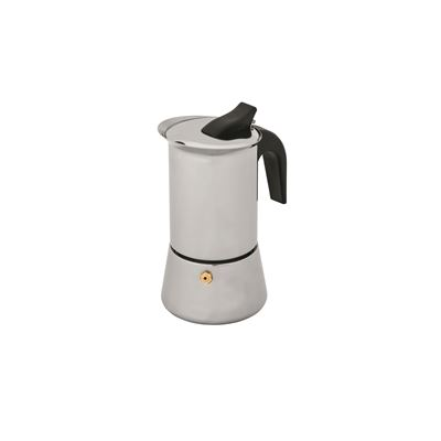 Inox Espresso Coffee Maker 4 Cup