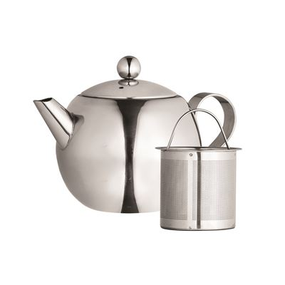 Nouveau 900ml Stainless Steel Teapot