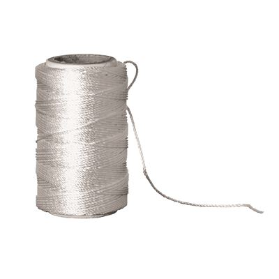 Butchers Twine with Cutter - White