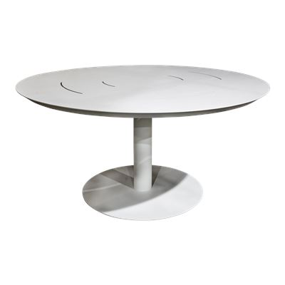 Seville Round Dining Table White