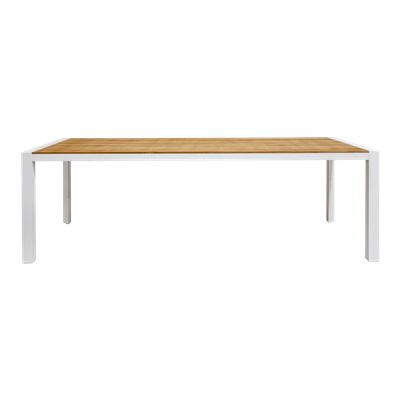 Lisbon 2.4m Dining Table White