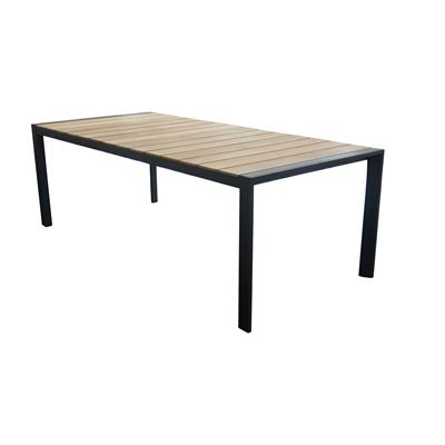 Lisbon 2.2m Dining Table Black