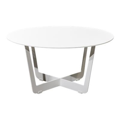 Sapporo Side Table White