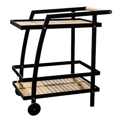 La Paz Drinks Trolley Black