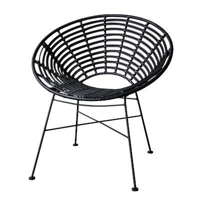South Beach Chair Black