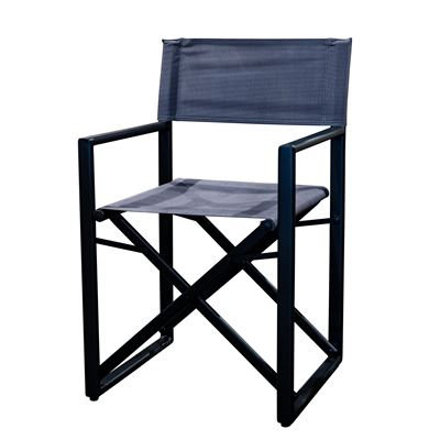 Cabo Directors Chair Black