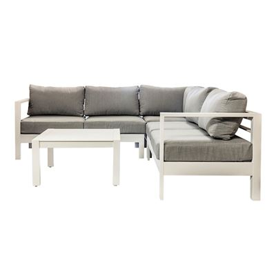 Solara Lounge Set White