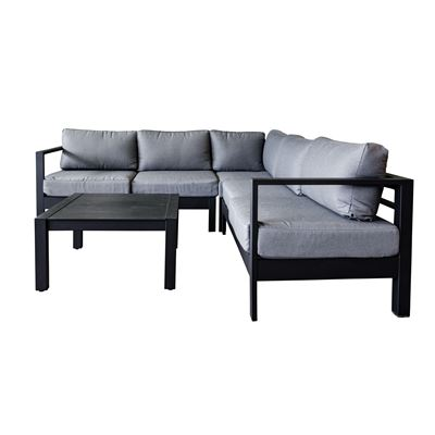 Solara Lounge Set Black