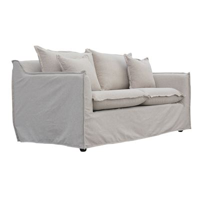 Avoca 2 Seater Sofa Taupe