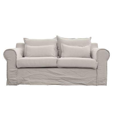 Byron 2 Seater Sofa Beige
