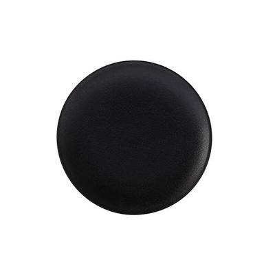 Caviar Coupe Plate 20Cm Blk