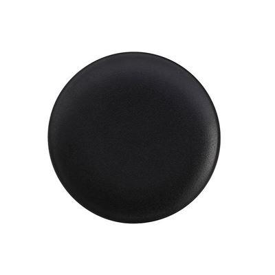 Caviar Coupe Plate 27.5Cm Blk