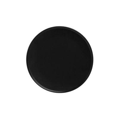 Caviar High Rim Plate 21Cm Blk