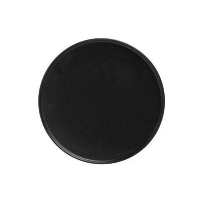 Caviar High Rim Plate 26.5Cm Blk