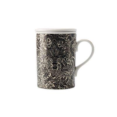 Morris Blk Seaweed Inf Mug 350Ml Gb