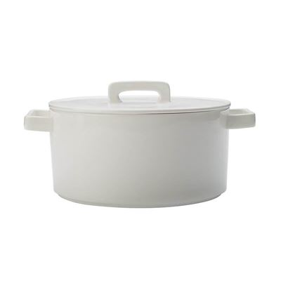Epicurious Rnd Casserole 2.6L Wht Gb