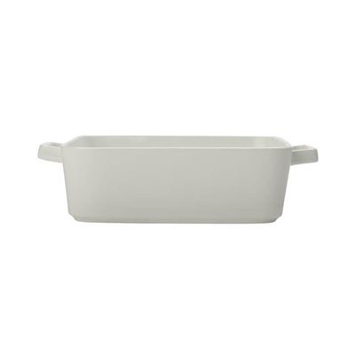 Epicurious Square Baker 24x8cm White
