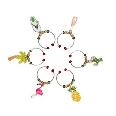 Wine Charms - Tropical Set of 6