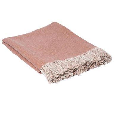 Idris Throw 125x150cm Dusty Pink