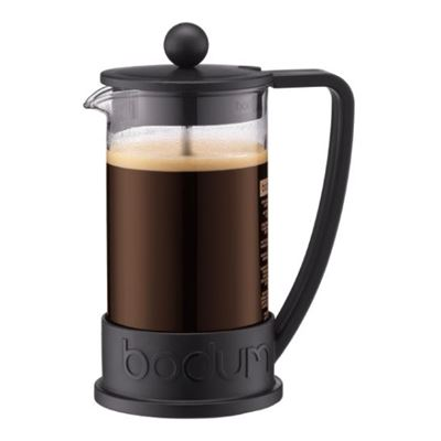 French Press coffee maker, 3 cup, 0.35 l, 12 oz Black