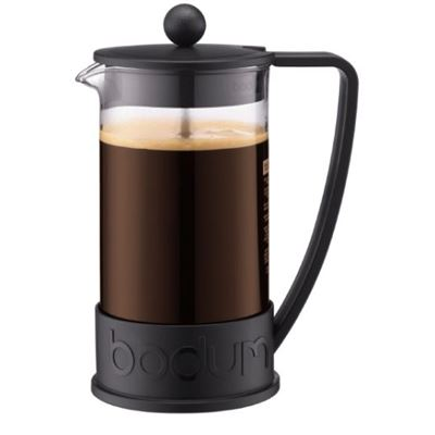 French Press coffee maker, 8 cup, 1.0 l, 34 oz Black