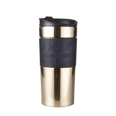 Travel mug, 0.35 l, 12 oz Gold