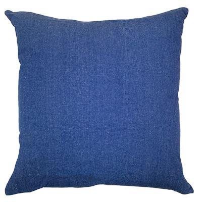 Solid Cushion 45x45cm Cobalt