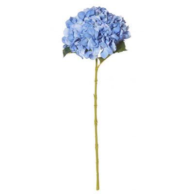 Hydrangea Stem 65cm Blue