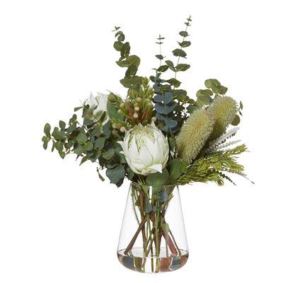 Banksia Mix-Tub Vase80cmWh-BOM