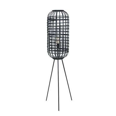 Amira Floor Lamp Black 152x41cm