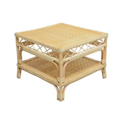 Rio Rattan Side Table Natural