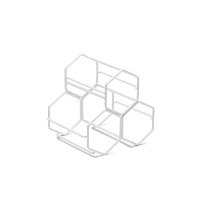 S&P Honeycomb Wine Rack White 20.5X15.5X19Cm