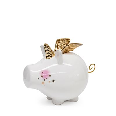 S&P Oink Money Box Unicorn 23Cm