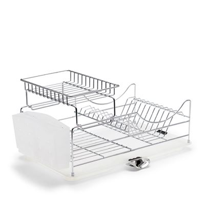 Sublime Dish Rack Chrome Stackable 52X30X26Cm