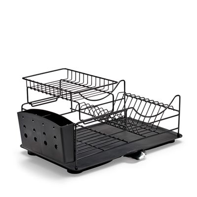 Sublime Dish Rack Black Stackable 52X30X26Cm