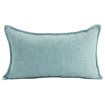 Linen Light Blue Cushion 30x50