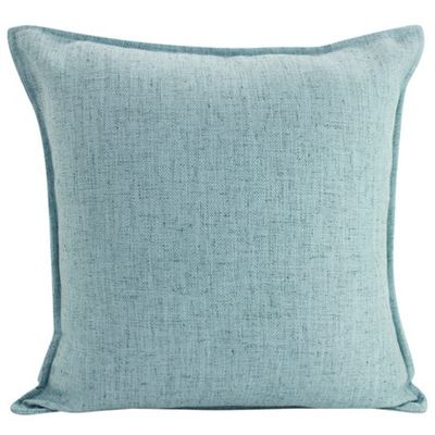 Linen Light Blue Cushion 45x45