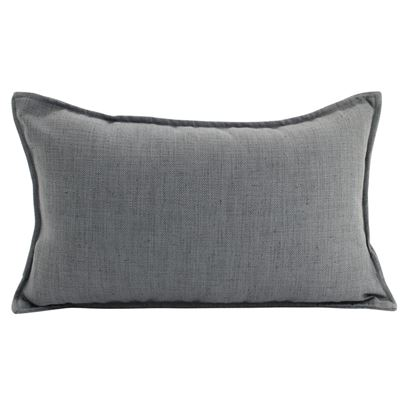 Linen Dark Grey Cushion 30x50
