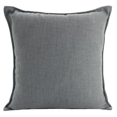 Linen Dark Grey Cushion 45x45