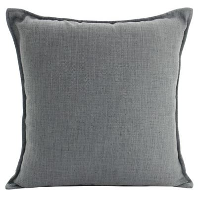 Linen Dark Grey Cushion 55x55