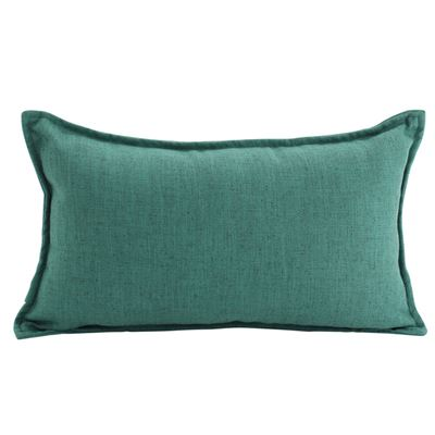 Linen Green Cushion 30x50