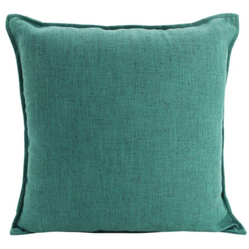 Linen Green Cushion 45x45cm