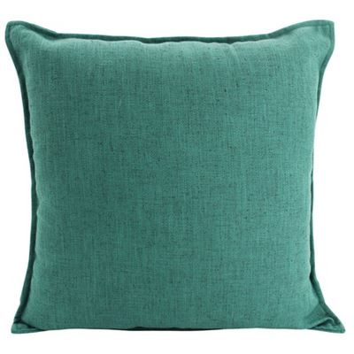 Linen Green Cushion 55x55cm