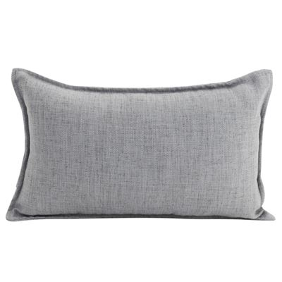 Linen Light Grey Cushion 30x50