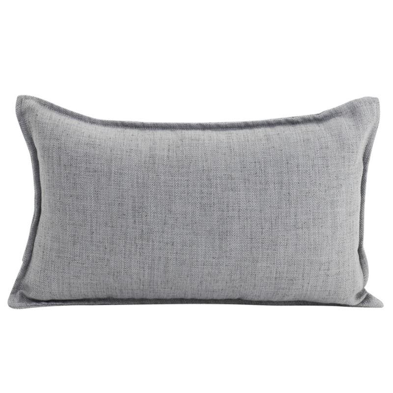 Linen Light Grey Cushion 30×50