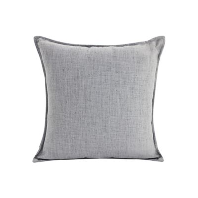 Linen Light Grey Cushion 55x55