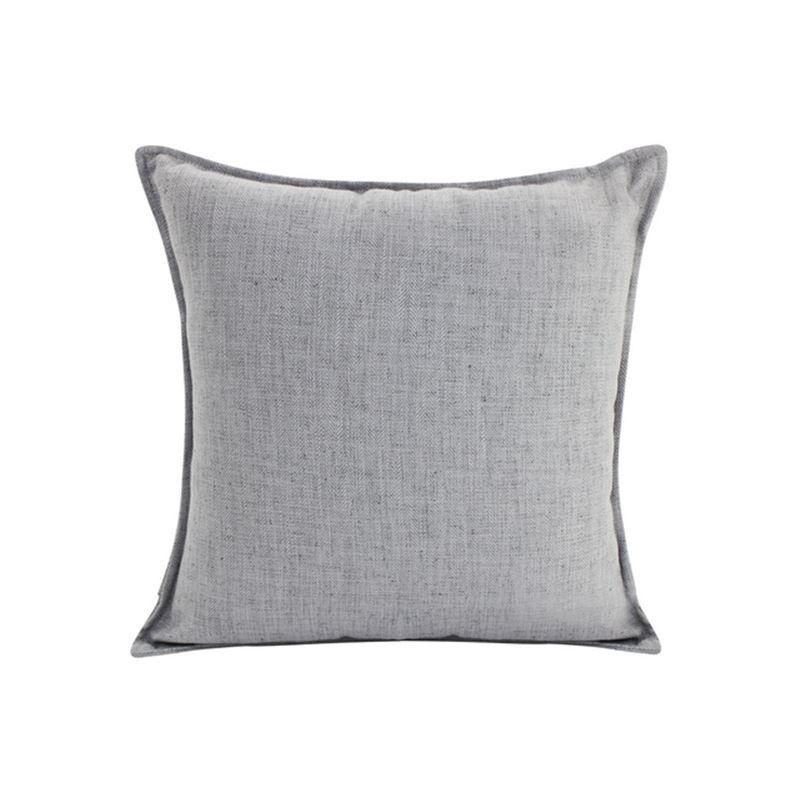 Linen Light Grey Cushion 55×55