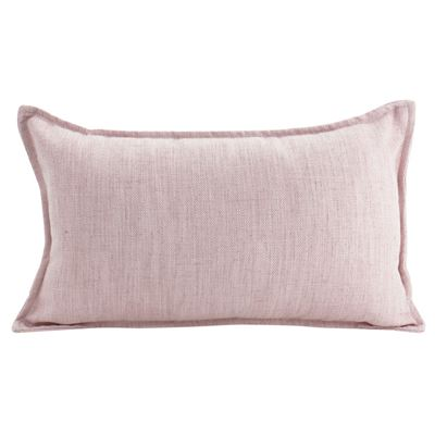 Linen Baby Pink Cushion 30x50