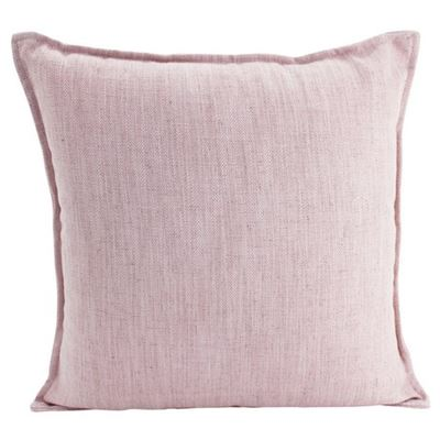 Linen Baby Pink Cushion 45x45